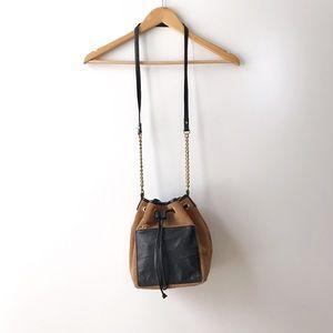TopShop • Slouchy Suede Bucket Bag